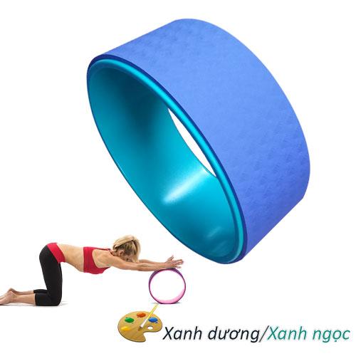 Vòng tập Yoga nhựa ABS Đài Loan - Xanh dương/Xanh ngọc