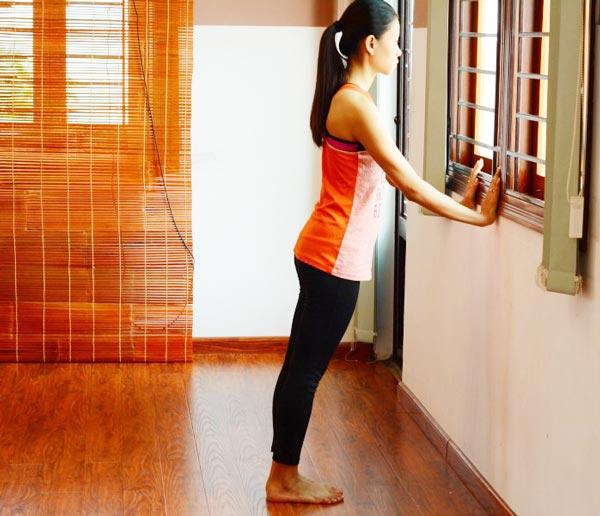 6 bài tập yoga giảm mệt mỏi, căng thẳng cho giới văn phòng - hạ phản 2