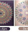 Thảm tập yoga hoa văn Ấn Độ cao cấp