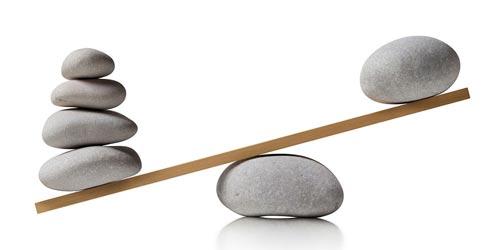 Tư thế yoga cây cầu - Cân bằng