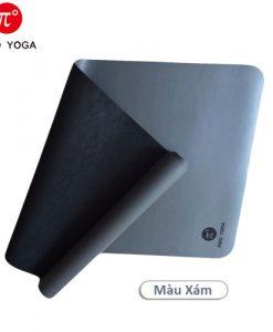 Thảm tập yoga cao cấp PIDO - Xám