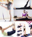 Dây đai hỗ trợ tập yoga sợi cotton – Một số động tác yoga