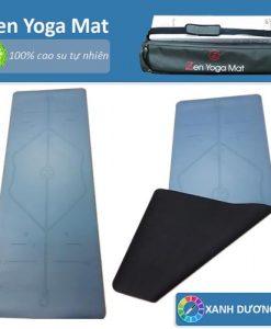 Thảm tập yoga định tuyến cao cấp ZEN Yoga Mat - Xanh dương
