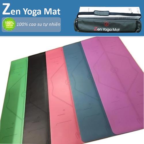 Thảm tập yoga định tuyến cao cấp ZEN Yoga Mat