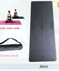 Thảm tập yoga định tuyến nội địa Trung Quốc - Màu Xám