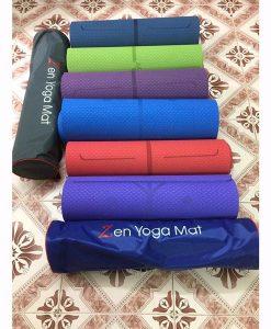Thảm tập Yoga định tuyến Zen TPE 8mm