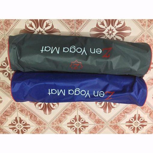Thảm tập Yoga định tuyến Zen TPE 8mm - Túi đựng thảm