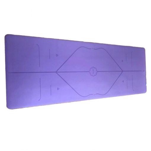 Thảm tập yoga du lịch Hatha dày 2mm