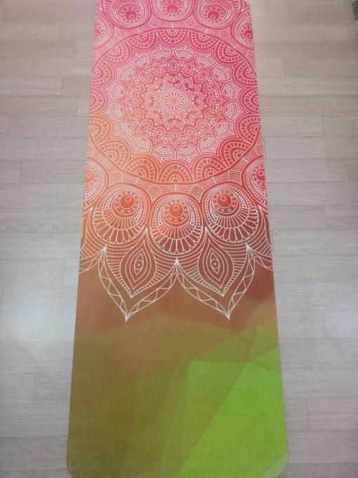 Thảm tập yoga du lịch hoa văn 1,6 mm