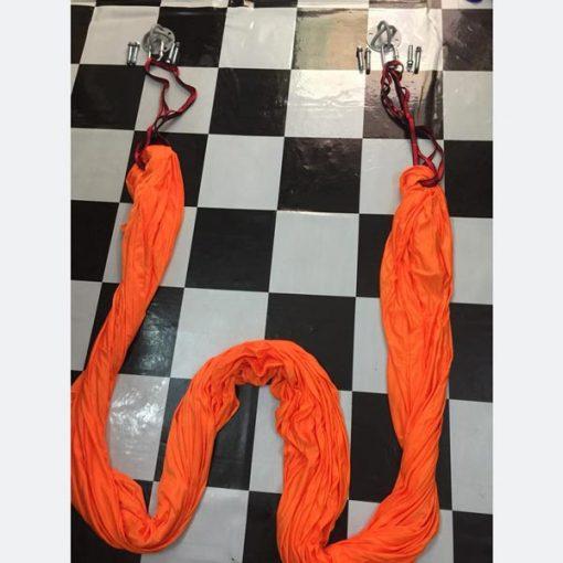 Võng tập yoga vải dù chuyên nghiệp - màu cam