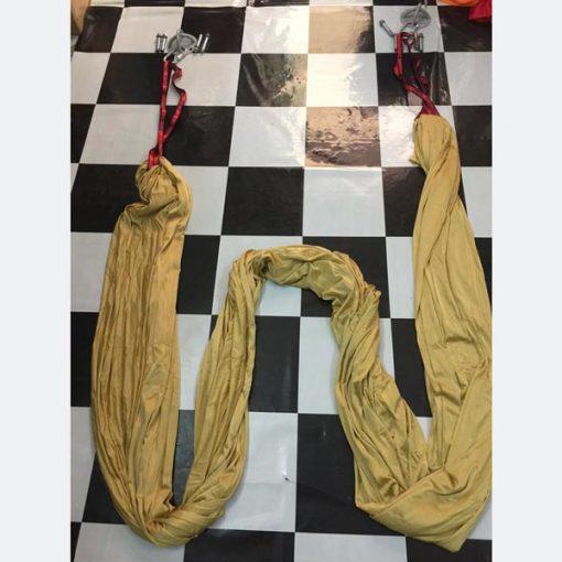 Võng tập yoga vải dù chuyên nghiệp - màu vàng