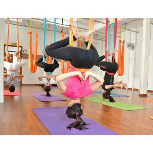 Võng tập yoga vải dù chuyên nghiệp