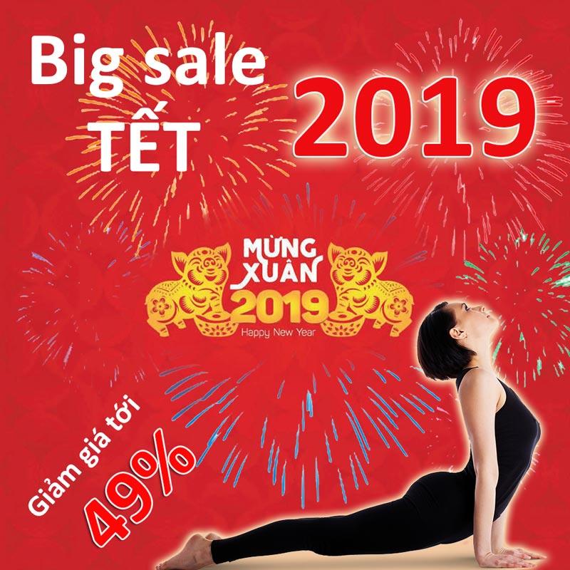 Big sale giảm giá và tặng quà tết kỷ hợi 2019
