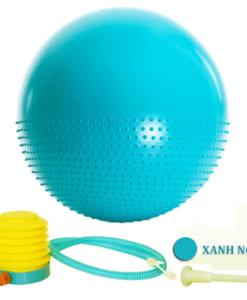 Bóng tập yoga 2 trong 1 - Màu xanh ngọc