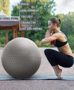 Bóng tập yoga 2 trong 1 siêu dày