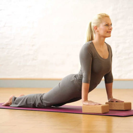Gạch tập yoga gỗ bần mới