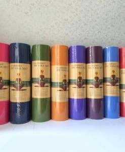 Thảm tập yoga TPE 8mm 1 lớp - các màu