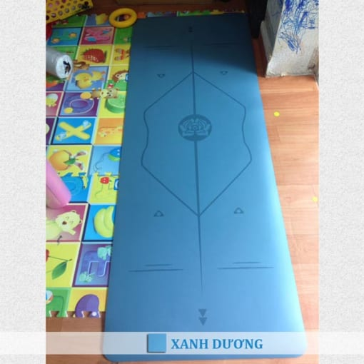 Thảm tập yoga cao su định tuyến mới