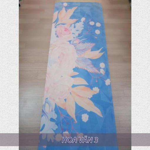 Thảm tập yoga du lịch hoa văn 1.6mm - Hoa văn 3