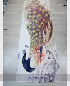 Thảm tập yoga du lịch hoa văn 1.6mm - Hoa văn 8