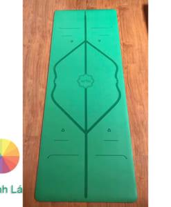 Thảm tập Yoga Hatha PU màu xanh lá