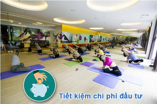 Tiết kiệm chi phí đầu tư, mua sắm thảm tập yoga