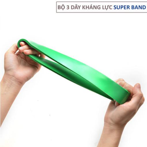 Bộ 3 dây kháng lực Super Band