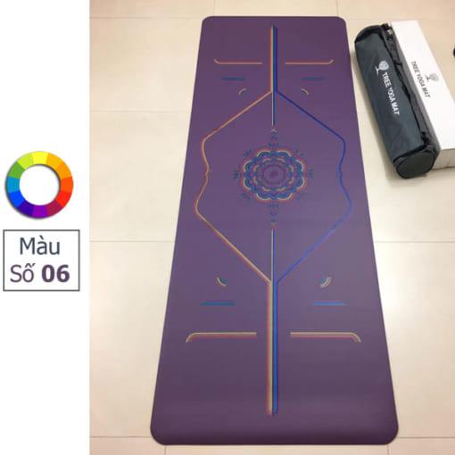 Thảm tập Tree Yoga đa sắc - Màu số 6