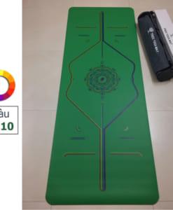 Thảm tập Tree Yoga đa sắc - Màu số 10