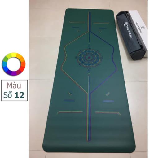 Thảm tập Tree Yoga đa sắc - Màu số 12