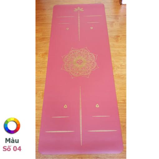 Thảm tập Tree Yoga đơn sắc - Màu số 4