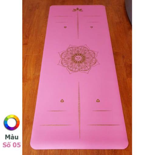 Thảm tập Tree Yoga đơn sắc - Màu số 5
