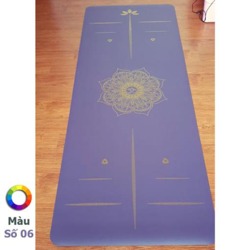 Thảm tập Tree Yoga đơn sắc - Màu số 6