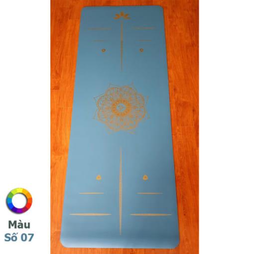 Thảm tập Tree Yoga đơn sắc - Màu số 7