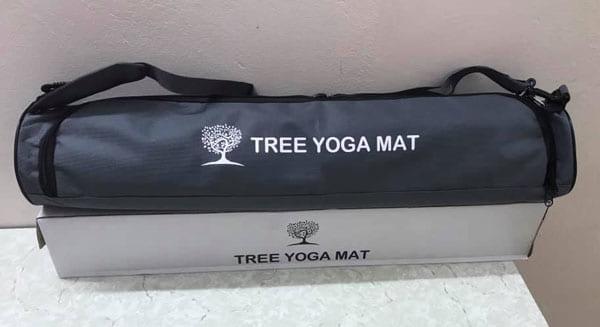 Thảm tập Tree Yoga đơn sắc - Túi đựng