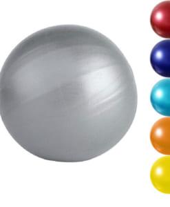 Bóng Miniball 25cm tập yoga/gym/trị liệu - Màu bạc