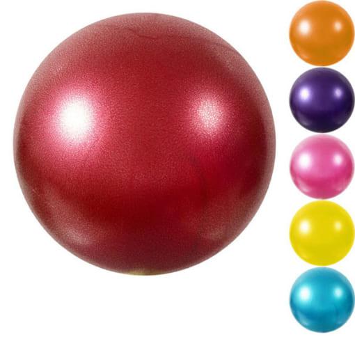Bóng Miniball 25cm tập yoga/gym/trị liệu - Màu đỏ