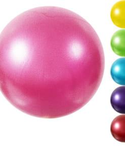Bóng Miniball 25cm tập yoga/gym/trị liệu - Màu hồng