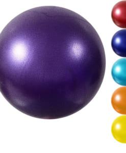 Bóng Miniball 25cm tập yoga/gym/trị liệu - Màu tím