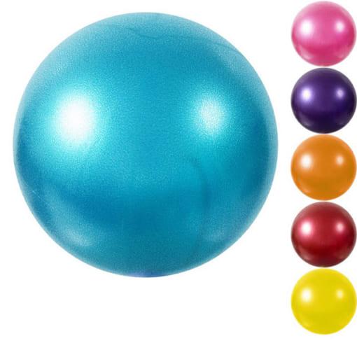 Bóng Miniball 25cm tập yoga/gym/trị liệu - Màu xanh dương