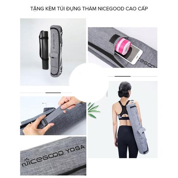 Thảm tập Yoga NiceGood - Túi đeo