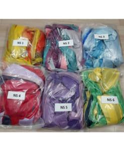 Bộ võng lụa Yoga bay ngũ sắc (6 màu)