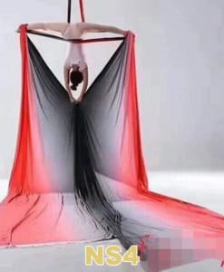 Bộ võng lụa Yoga bay ngũ sắc - NS4