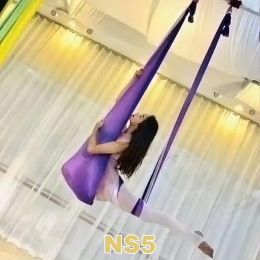 Bộ võng lụa Yoga bay ngũ sắc - NS5